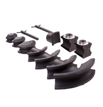 Pipe bending formers, guides and parts