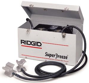 ridgid tool hire sale uk pipe freezing kit rofrost. Black Bedroom Furniture Sets. Home Design Ideas