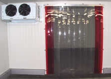 Strips curtain for cold room freezer